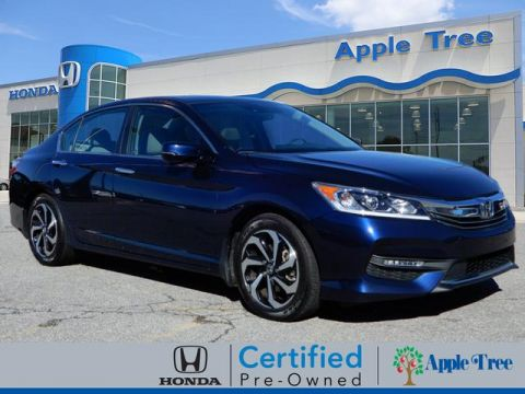 Pre-Owned 2016 Honda Accord EX-L w/Navigation and Honda Sensing