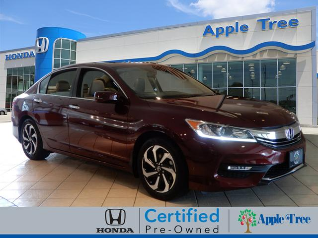 Certified Pre Owned 2016 Honda Accord EX L W/Navi W/Honda Sensing