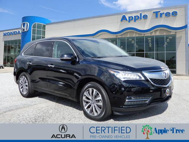Certified PreOwned Acura MDX SHAWD WTech SHAWD Dr SUV W - Acura mdx pre owned