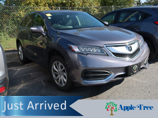 Certified Pre Owned 2017 Acura Rdx Base