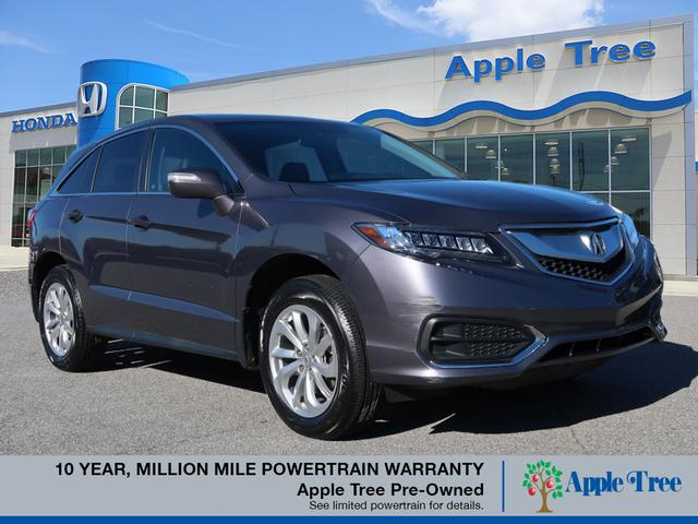Certified Pre Owned 2017 Acura Rdx W Tech