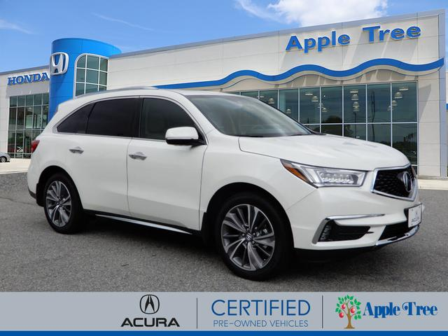 Certified Pre-Owned 2018 Acura MDX SH-AWD w/Tech